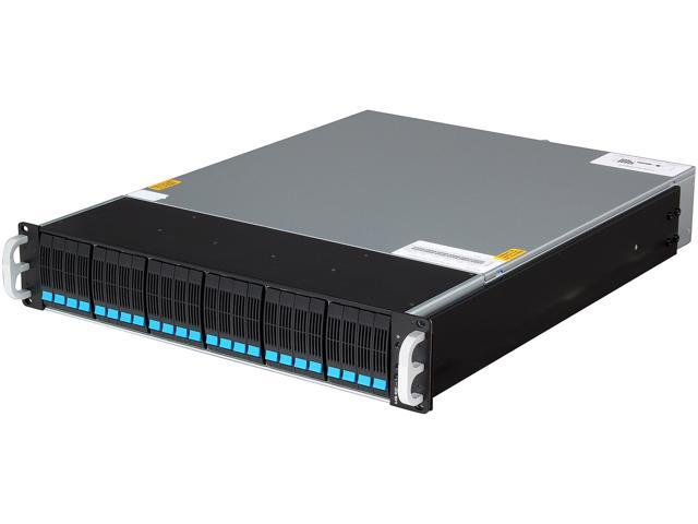 "SANS DIGITAL EliteSTOR ES224X6+BS 2U 24 Bay 2.5"" 6G SAS/SATA to SAS JBOD with SAS Expander Rackmount"