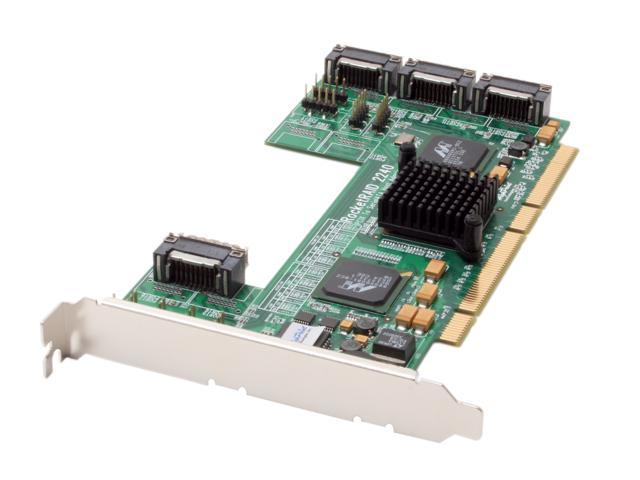 HighPoint RocketRAID 2240 PCI-X SATA II (3.0Gb/s) 16-Channel Multi-Port Infiniband RAID Controller