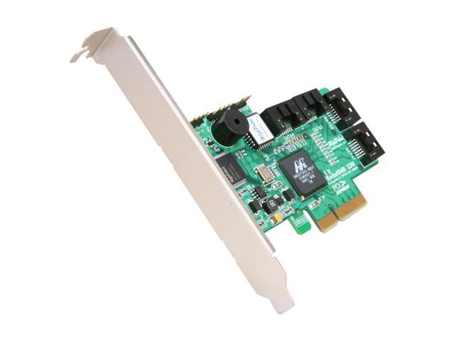 HighPoint RocketRAID 2310 PCI Express x4 (x8 and x16 slot compatible) SATA II (3.0Gb/s) Controller Card