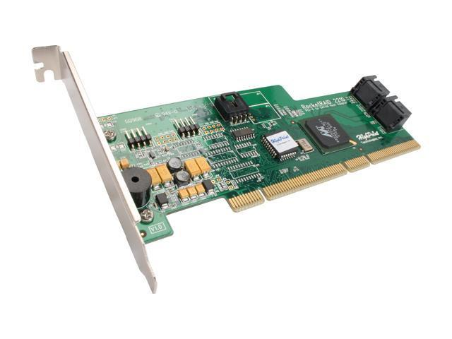 HighPoint RocketRAID 2210 PCI-X SATA II (3.0Gb/s) Controller Card