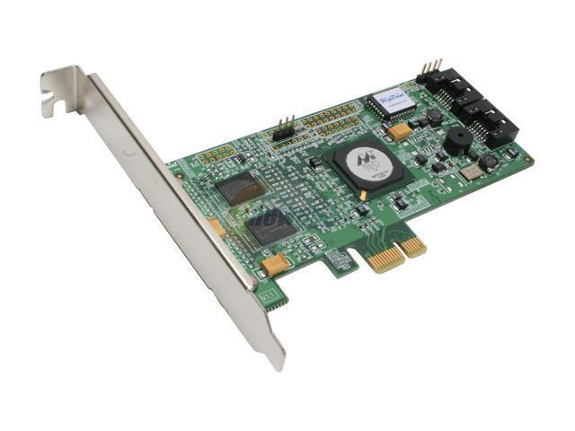 HighPoint RocketRAID 3120 PCI-Express x1 SATA True Hardware RAID Controller