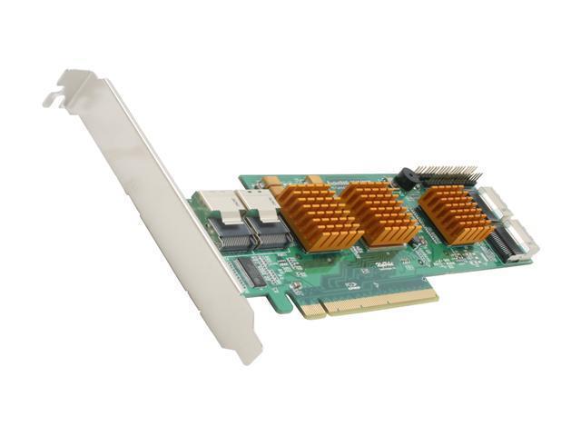 HighPoint RocketRAID 2740 PCI-Express 2.0 x16 SATA / SAS RAID Controller Card