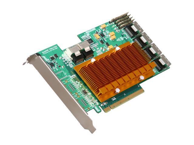 HighPoint RocketRAID 2760A PCI-Express 2.0 x16 Full Height SATA / SAS RAID Controller Card