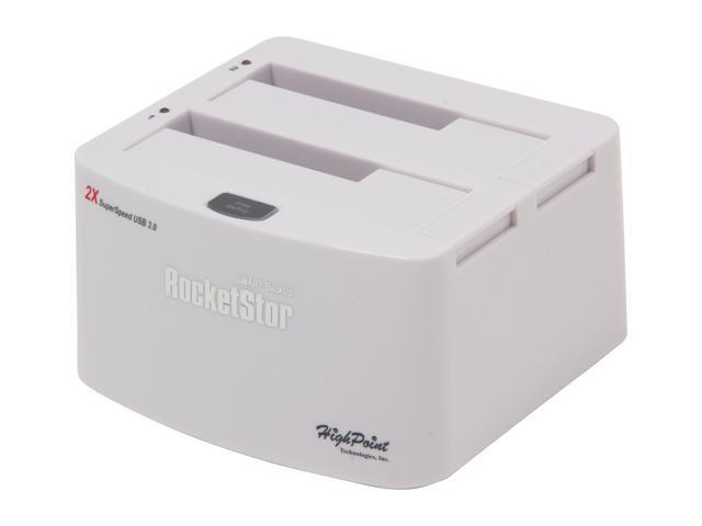 HighPoint RocketStor 5122B Smart Backup Storage Dock