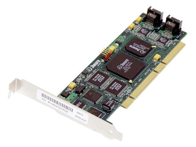 3ware 8506-4LP PCI SATA Controller Card