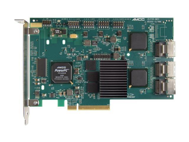 3ware 9650SE-12ML SGL PCI Express x8 SATA II (3.0Gb/s) Controller Card
