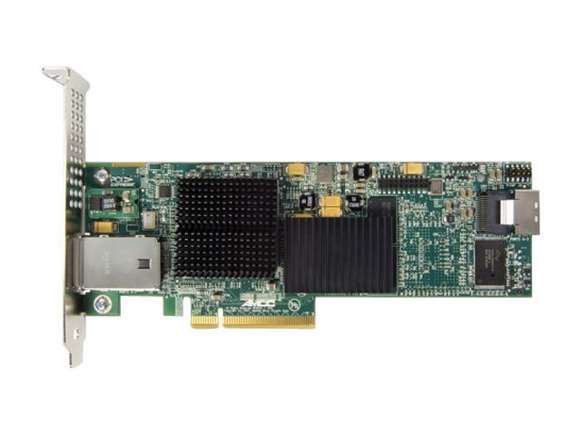 3ware 9690SA-4I4E-SGL, Low Profile, SAS/SATA Hardware RAID Controller Card, PCIExpress x8, (4 Internal, 4 External), w/ 3Gb/sec, RAID 0, 1, 5, 6, 10, 50 and Single Disk - Single