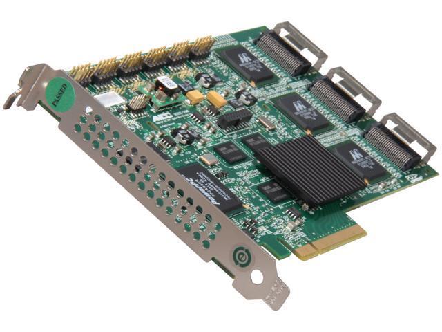 3ware 9650SE-24M8 SGL PCI Express SATA II (3.0Gb/s) Hardware RAID Controller Card - SGL