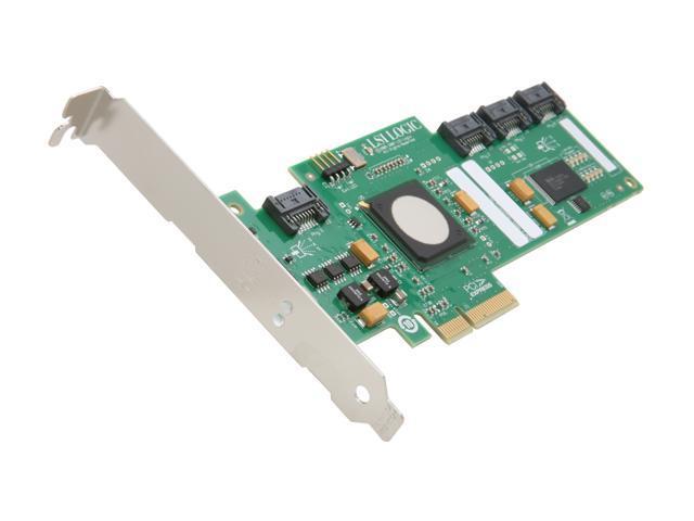 Intel RAID Controller Card 3G SATA/SAS PCI-E x4 4 internal ports (SASWT4I)