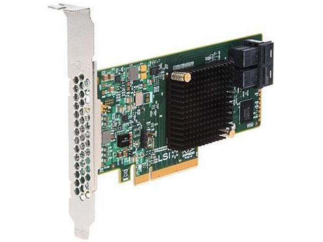 Intel RS3WC080 PCI-Express 3.0 x8 Low Profile Ready SATA / SAS Controller Card