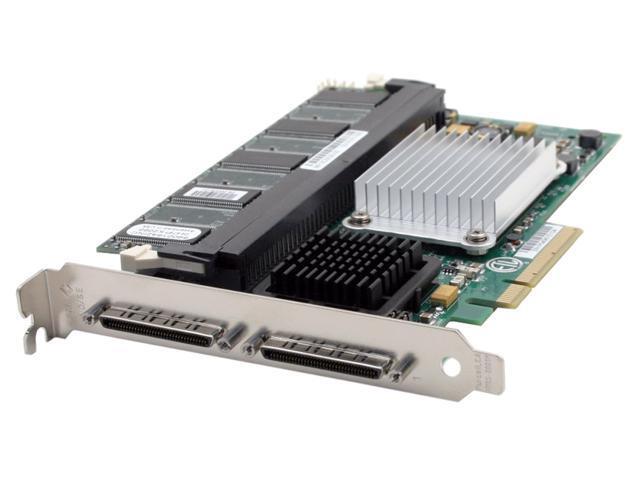 LSI LSI00008 PCI Express SCSI MegaRAID 320-2E Controller Card