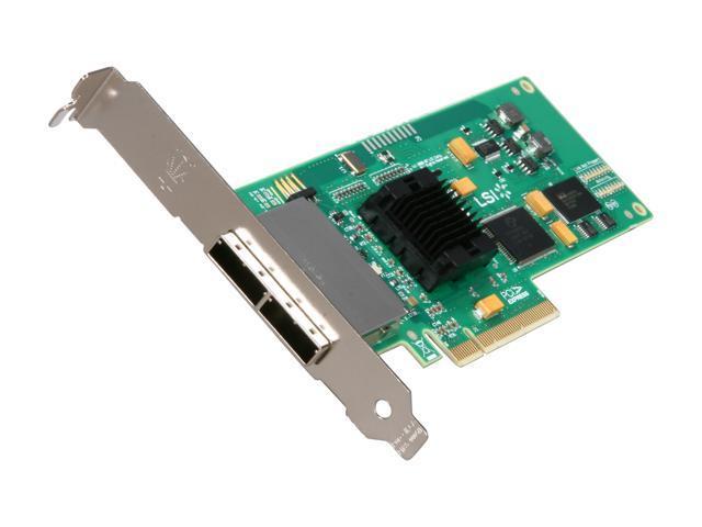 LSI LSI00138 PCI Express x8 SATA / SAS SAS3801E 8 Port 3G miniSAS