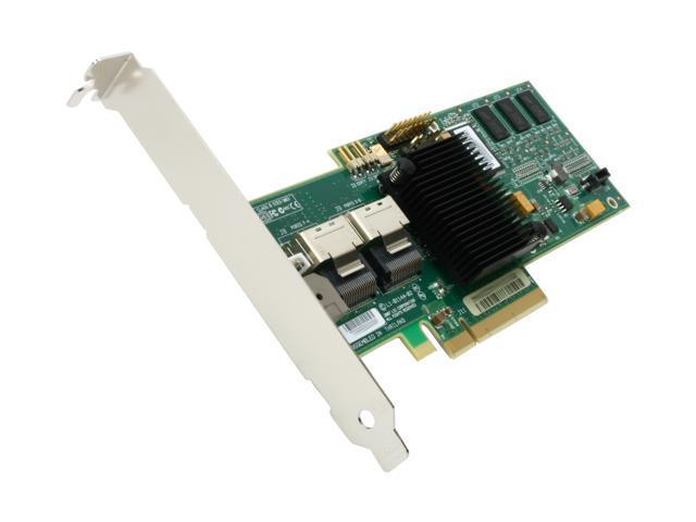 LSI MegaRAID 8708EM2 LSI00187 PCI-Express x8 SATA / SAS RAID Controller Card - Kit