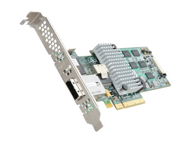 3ware 9750-4i4e SGL PCI-Express 2.0 x8 SATA / SAS Controller Card
