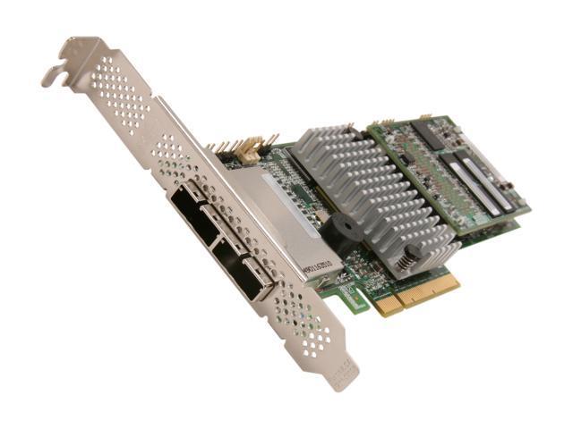 LSI LSI00284 PCI-Express 2.0 x8 SATA / SAS MegaRAID SAS 9285-8e Controller Card - SGL