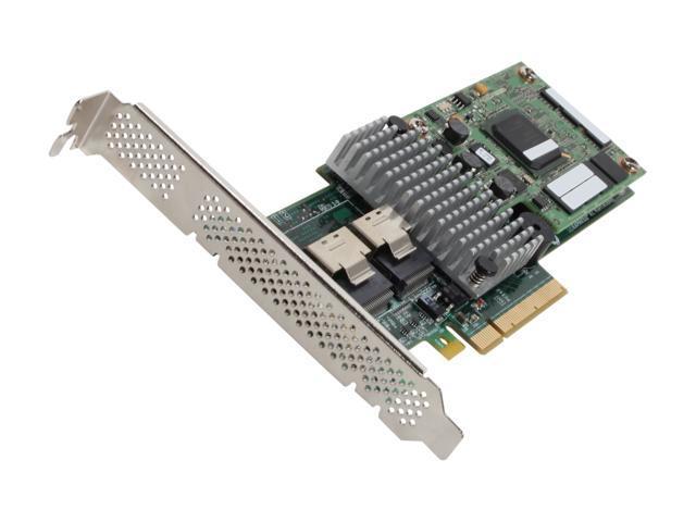 LSI LSI00283 PCI-Express 2.0 x8 SATA / SAS MegaRAID SAS 9260CV-8i Controller Card, Kit