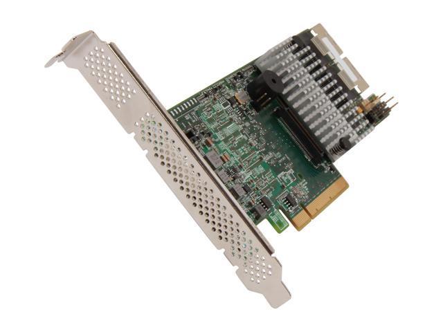 LSI MegaRAID LSI00296 (9266-8i Kit) PCI-Express 2.0 x8 SATA / SAS RAID Controller - Kit