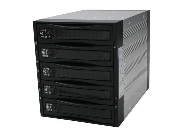 """Athena Power BP-SAS3051B 3 x 5.25"""" Bay for 5 x 3.5"""" SAS/SATA HDD Backplane"""