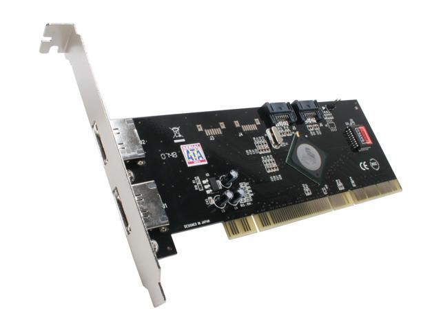 SYBA SD-PCXSA2-2E2R PCI-X SATA RAID Controller Card