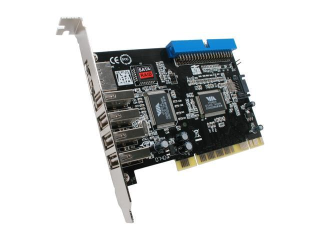 Name: esata iii 2 external 6gbps ports pci-e controller card model: pcie021-a specification asm1061 chipset
