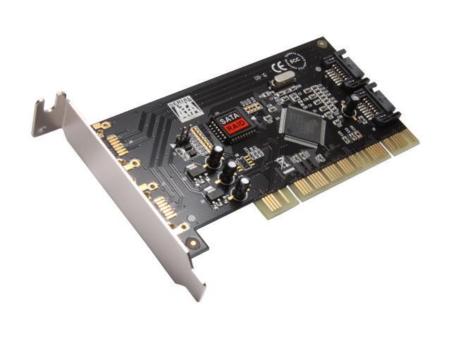 SYBA SD-LP-SIL2IR PCI SATA Controller Card