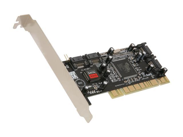 SYBA SY-SA3114-4R PCI SATA I (1.5Gb/s) RAID Controller Card