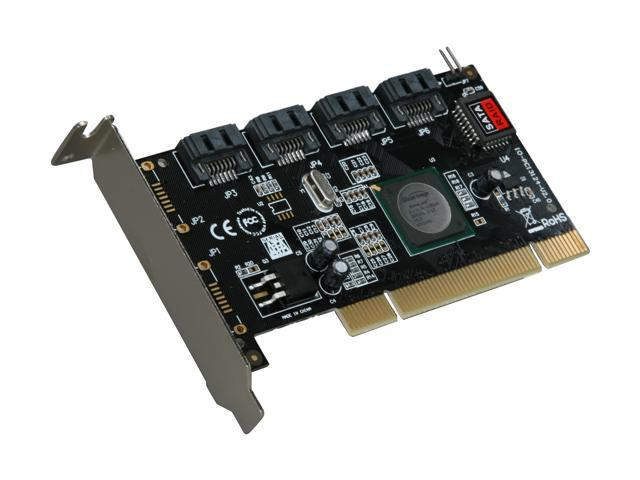 SYBA SY-PCI40026 PCI Low Profile SATA II (3.0Gb/s) RAID Controller Card