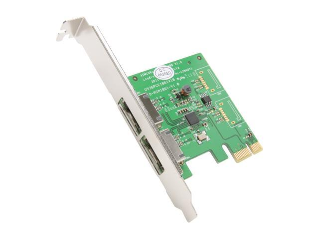 SYBA SY-PEX40038 PCI-Express 2.0 SATA III (6.0Gb/s) Controller Card