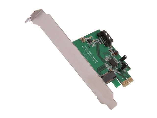 SYBA SY-PEX40053 PCI Express Low Profile Ready SATA III (6.0Gb/s) RAID Controller Card