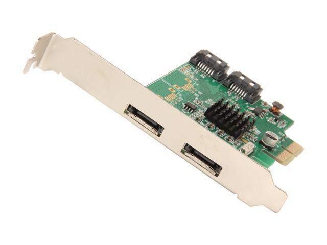 SYBA SI-PEX40058 PCI-Express 2.0 x2 Low Profile Ready SATA III (6.0Gb/s) RAID Controller Card