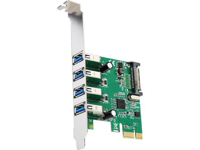 SYBA SD-PEX20212 PCI-Express 2.0 x1 USB 3.0 4 Port USB 3.0 PCI-e 2.0 x1 Card