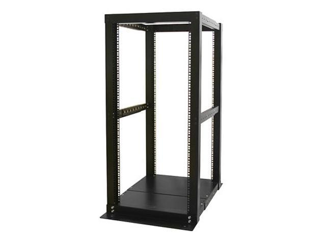 StarTech 4POSTRACK25 25U 4 Post Server Open Frame Rack