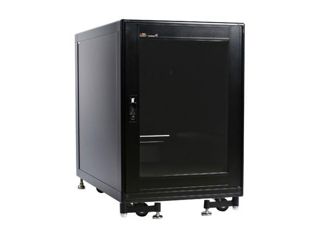 StarTech 2636CABINET 15U 19in Black Server Rack Cabinet with Fans