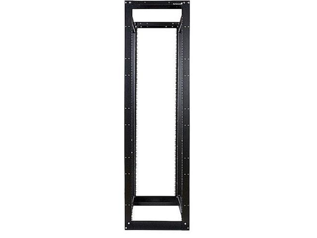 StarTech.com 45U 3300lb High Capacity 4 Post Open Server Equipment Rack - Flat Pack