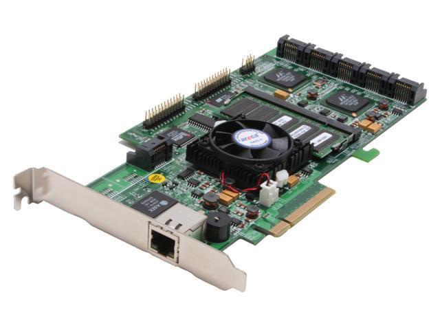 areca ARC-1230 PCI-Express x8 SATA II (3.0Gb/s) Controller Card