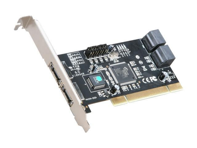 Rosewill RC-209-EX PCI 2.3, 32bit, 33/66Mhz SATA Controller Card
