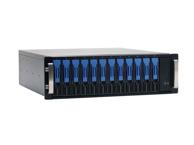 NORCO DS-1220 Support RAID 0, 1, 0+1, JBOD, RAID5 (Windows only) 12 3.5