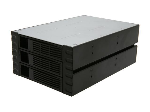 """NORCO SS-300 3 Bay 3.5"""" SATA or SAS Hot Swap Rack Module"""