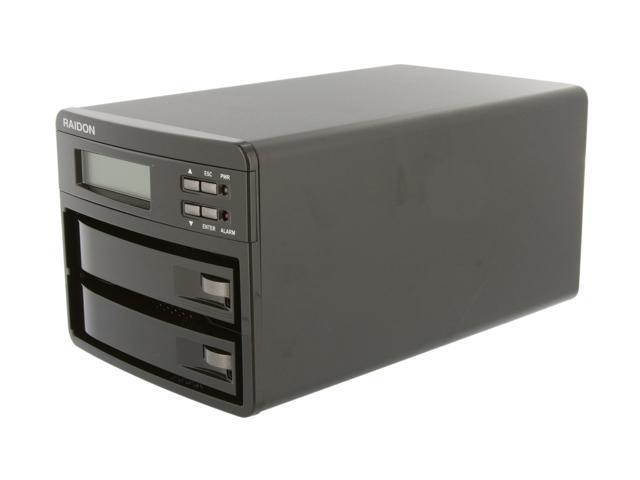 Raidon GR3630-2S-SB2 (+) 2-Bay eSATA / USB RAID 0, 1 Enclosure