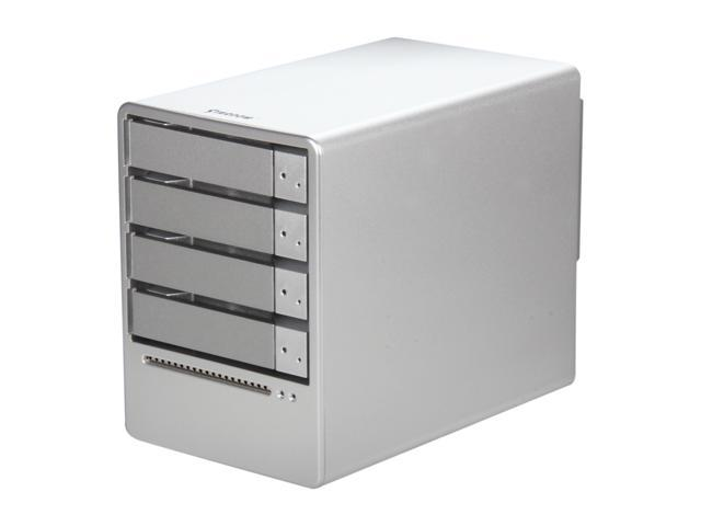 Stardom SOHOTANK ST5610 ST5610-4S-SB3 JBOD eSATA / USB 3.0 4-Bay eSATA and USB 3.0 Hot-swappable RAID Enclosure