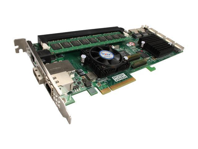 areca ARC-1680IX-24-2G PCI-Express x8 SAS RAID Card