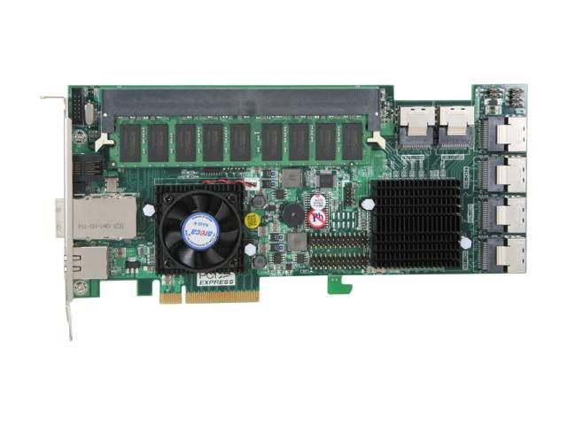 areca ARC-1680IX-24-4G PCI-Express x8 SAS RAID Card