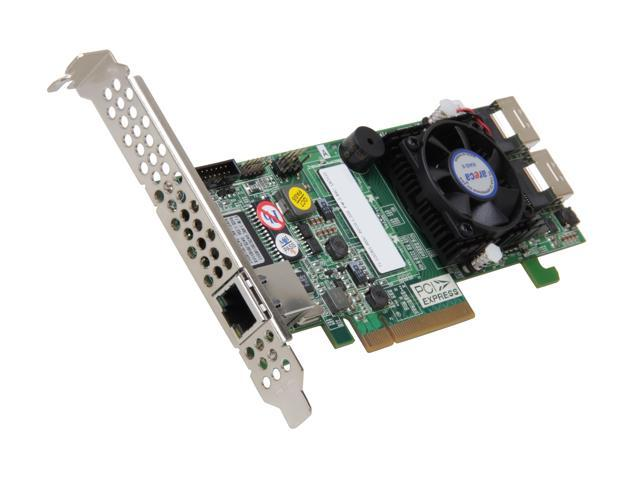 areca ARC-1223-8I PCI-Express 2.0 x8 Low Profile SATA / SAS 8-Port PCIe 2.0 Internal SAS/SATA RAID Controllers