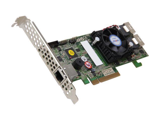 areca ARC-1882I PCI-Express 2.0 x8 Low Profile SATA / SAS 8 Ports 6Gb/s SAS/SATA RAID Adapters