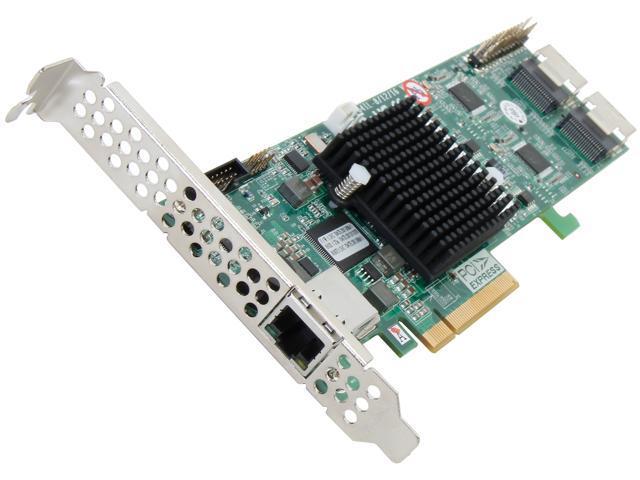 areca ARC-1264IL-16 PCI-Express 2.0 x8 Low Profile SATA III (6.0Gb/s) RAID Controller Card