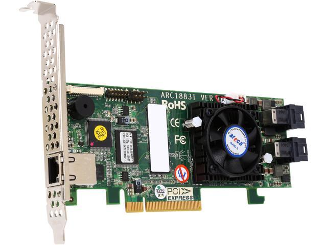 areca ARC-1883i-43 PCI-Express 3.0 x8 SAS RAID Adapter