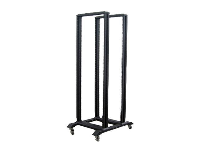 iStarUSA WO45AB 45U 4 Post Open Frame Rack