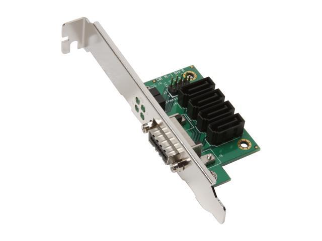 iStarUSA zAGE-H-4SA70 Multilane x4 to SATA Host Adapter