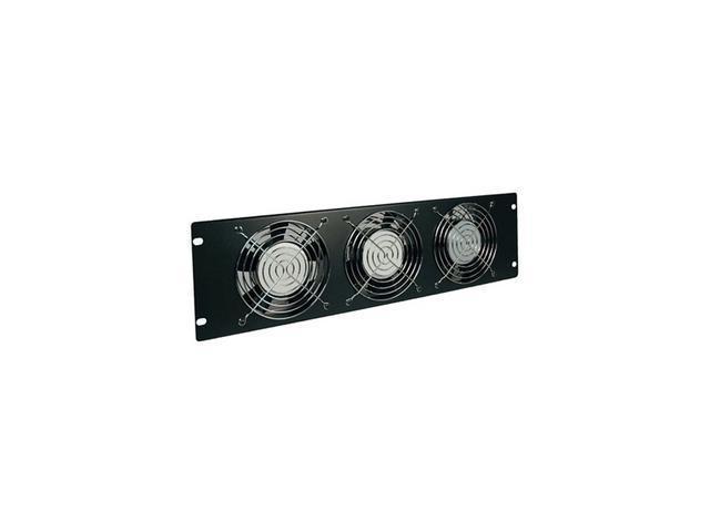 TRIPP LITE SRFAN3U 3U Fan Panel, 120V (3 high-performance fans; 210 CFM; 5-15P plug.)