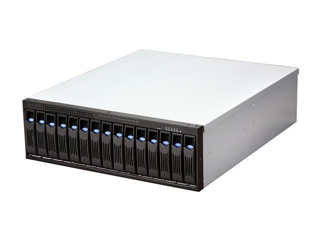 Habey DS-1520N 3U Rackmount 15-bay SATA Direct Attached Storage Array with Hardware RAID - OEM